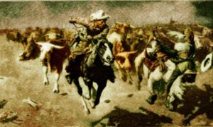 Stampede-by-W.-R.-Leigh-1915