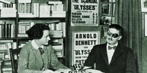 Author James Joyce and Publisher