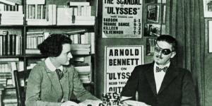 Author James Joyce and Publisher