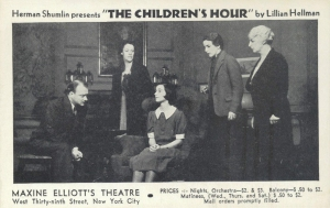 The-Children's-Hour-1935-Postcard