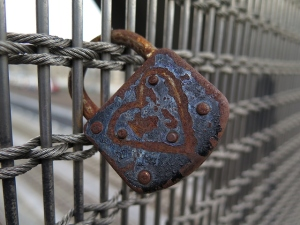 rusted-lock-on-the-fence
