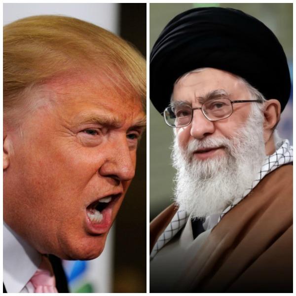 New Pop Lit Presents Trump vs Khameni